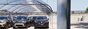 El parque automovilístico de Renault-Dacia en Monza amplía su protección perimetral con Micro-Ray