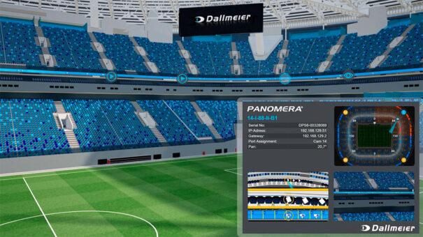Dallmeier alla Gazprom Arena di San Pietroburgo