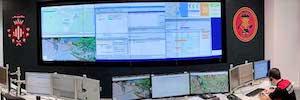 Gesab equipa el centro de control del cuerpo de Bomberos del Ayuntamiento de Valencia