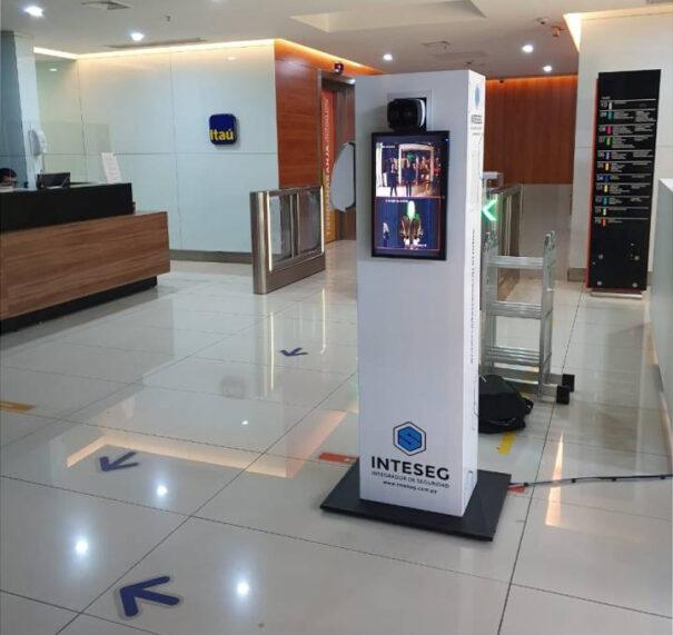 Scati en Banco Itau Paraguay
