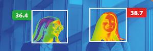 Wisenet TNM-3620TDY: cámara térmica certificada IEC 60601