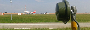 Las barreras microondas de CIAS evitan la colisión de aviones en los aeropuertos