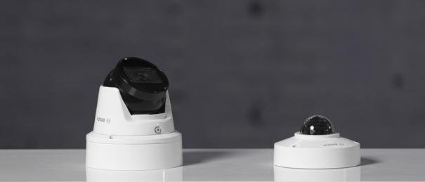 Bosch Flexidome IP micro 3000i et tourelle 3000i IR