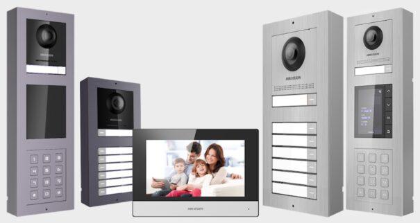 Hikvision video intercoms 2generation