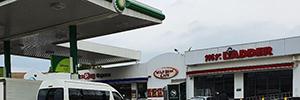La tecnología de Vivotek ofrece seguridad a conductores y empleados en las gasolineras