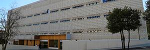 Optimus proporciona el sistema de megafonía y alarma al nuevo edificio Garbí