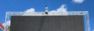 Las cámaras de Axis transmiten el Campeonato de Vóley playa de Madrid
