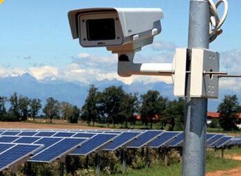 محور محطة للطاقة الشمسية