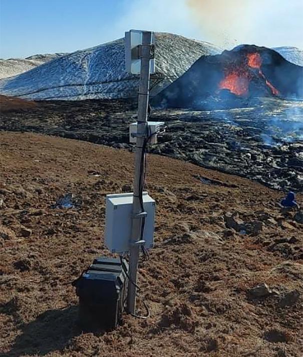 MBL Hanwha XNP-6040H volcan est entré en éruption