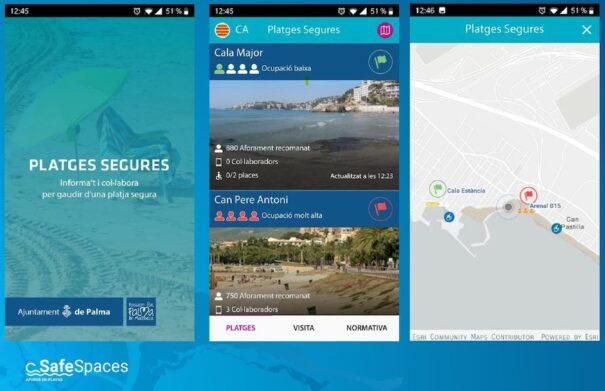 Esri y Nexus Geographics Safe Spaces