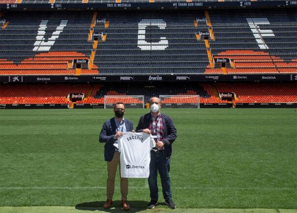 FacePhi em Valencia CF