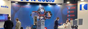 IC аудио представил на ISE 2021 новые динамики голосовой сигнализации EN54-24