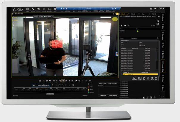 Geutebruck ff videosistemi G-SIM X Panopticon