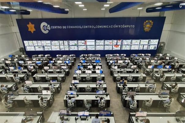 Bateau videowall UniSee 500 à Queretaro