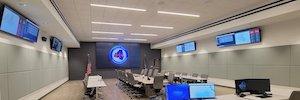 Christie AV-Lösungen im neuen Emergency Operations Center von Lafayette